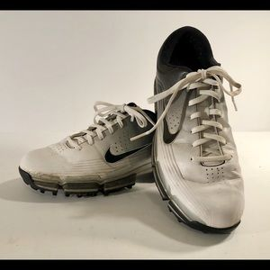 Nike Zoom Power Channel Traction Golf Black/White